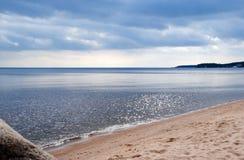 большое озеро Стоковая Фотография