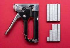 Большое оружие сшивателя tacker Стоковые Фото