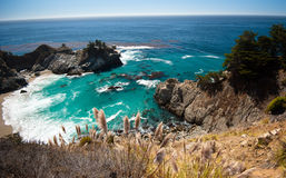 Большое побережье Sur - Калифорнии Стоковая Фотография