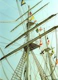 Большое португальское парусное судно CEAOB Стоковая Фотография