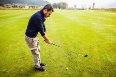 Большое поле для гольфа Стоковое Изображение RF