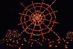 Большое пламя фонарика ` Джека o в Croton-на-Гудзоне в Нью-Йорке Стоковое Изображение RF