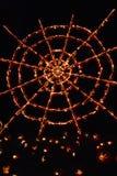 Большое пламя фонарика ` Джека o в Croton-на-Гудзоне в Нью-Йорке Стоковое фото RF