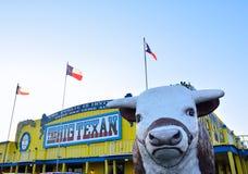 Большое ранчо стейка Texan, известный ресторан стейкхауса Стоковое Изображение