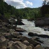 Большое река южной вилки стоковое изображение