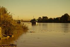 Большое река Стоковое Изображение