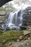 Большое скрещивание водопада кедра Стоковая Фотография