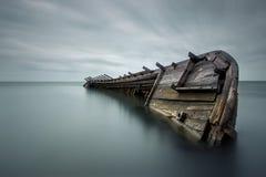 Большое судно Стоковая Фотография RF