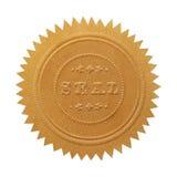 Большое уплотнение золота Стоковая Фотография