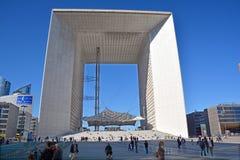 Большое Arche в обороне Ла Стоковое Изображение