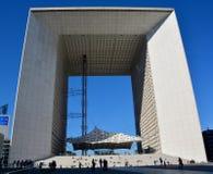 Большое Arche в обороне Ла Стоковое Изображение RF