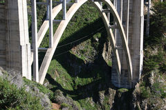 большое bixby sur моста Стоковые Фотографии RF