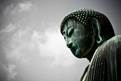 Большое Budda стоковая фотография rf