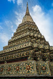 Большое Jadee в Wat Pho Бангкоке Таиланде Стоковые Фото