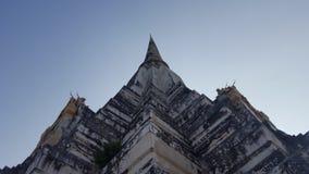 большое pangoda ayutthaya Таиланд Стоковое Изображение