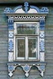 большое rostov Окно с высекаенными architraves стоковое изображение rf
