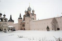большое rostov kremlin Стоковое Изображение RF