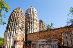 большое sanchy stupa стоковое фото rf