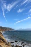 большое sur береговой линии california стоковое изображение