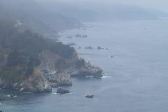 Большое Sur - Калифорния, Соединенные Штаты Стоковая Фотография