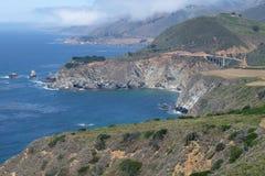 Большое Sur - Калифорния, Соединенные Штаты Стоковые Изображения RF
