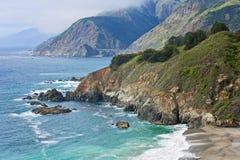 большое sur california Стоковые Изображения