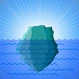 Большой айсберг снега Стоковые Фотографии RF