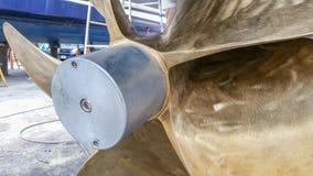 Большой анод пропеллера приспособленный к пропеллерам Стоковые Изображения RF