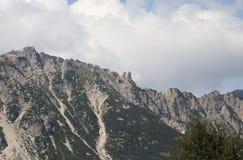 большой ландшафт итальянских гор вызвал Венецианск Prealps Стоковые Изображения RF