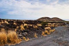 большой ландшафт острова hawaii США стоковое изображение rf