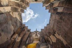 Большой Будда, в виске приятеля Sri Стоковая Фотография