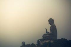 Большой Будда в Гонконге Стоковое Фото
