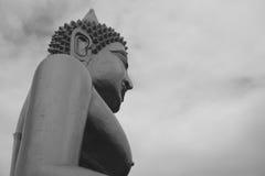 большой Будда золотистый Стоковые Фотографии RF