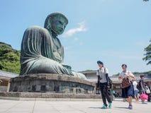Большой Будда Камакуры, Японии Стоковые Изображения RF