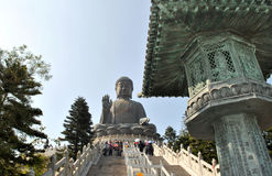 Большой Будда Стоковая Фотография RF