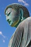 Большой Будда (Daibutsu) Камакуры Стоковое Изображение