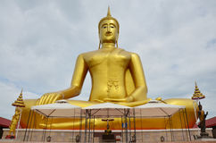 Большой Будда Wat Bangchak на Nonthaburi Таиланде Стоковое фото RF