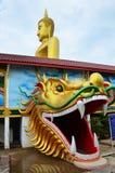 Большой Будда Wat Bangchak на Nonthaburi Таиланде Стоковая Фотография RF