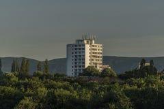 Большой блок квартир в Usti nad Labem стоковое фото rf