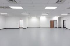 Большой вакантный офис Стоковая Фотография