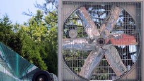 Большой вентилятор для больших космосов Стоковое Изображение