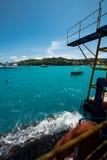 Большой взгляд на Nusa Lembongan стоковое изображение rf