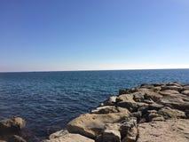 Большой вид на океан Стоковые Изображения RF