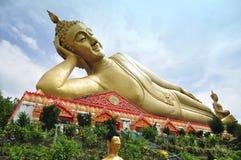 Большой возлежа Будда Стоковое Фото