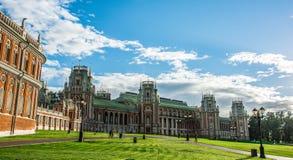 Большой дворец в ансамбле Tsaritsyno стоковое изображение rf