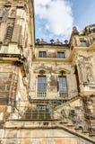 Большой дворец Дрезден сада стоковая фотография rf