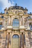 Большой дворец Дрезден сада стоковые изображения