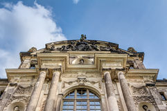 Большой дворец Дрезден сада стоковые фото