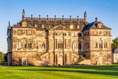 Большой дворец Дрезден сада стоковое изображение rf