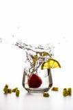 Большой выплеск плодоовощей Стоковая Фотография RF
